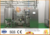 small capacity 500kg/h Fruit And Vegetable Juice Tubular UHT Sterilizating Machine