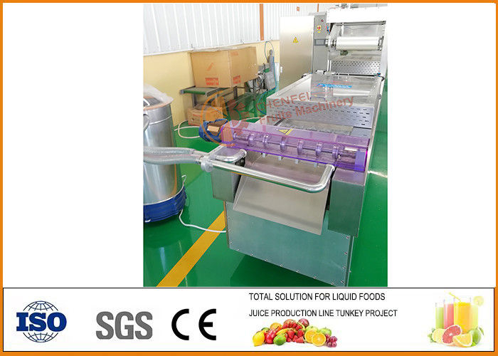 SUS304 Material Dried Fruit Production Line Small Complete